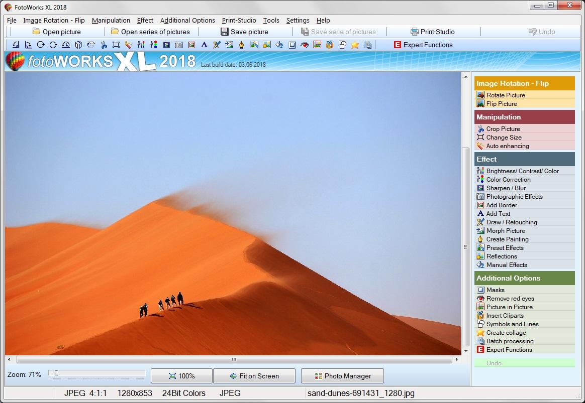 Free Photo Editing Software or Shareware