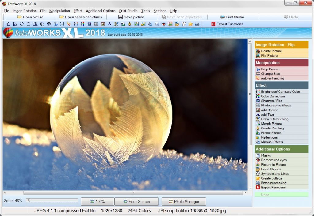 Photo Editing Software for PC