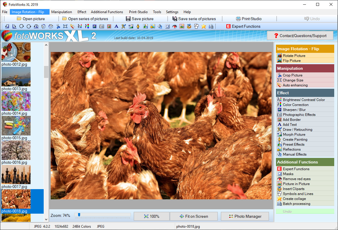 Photo Editor Program