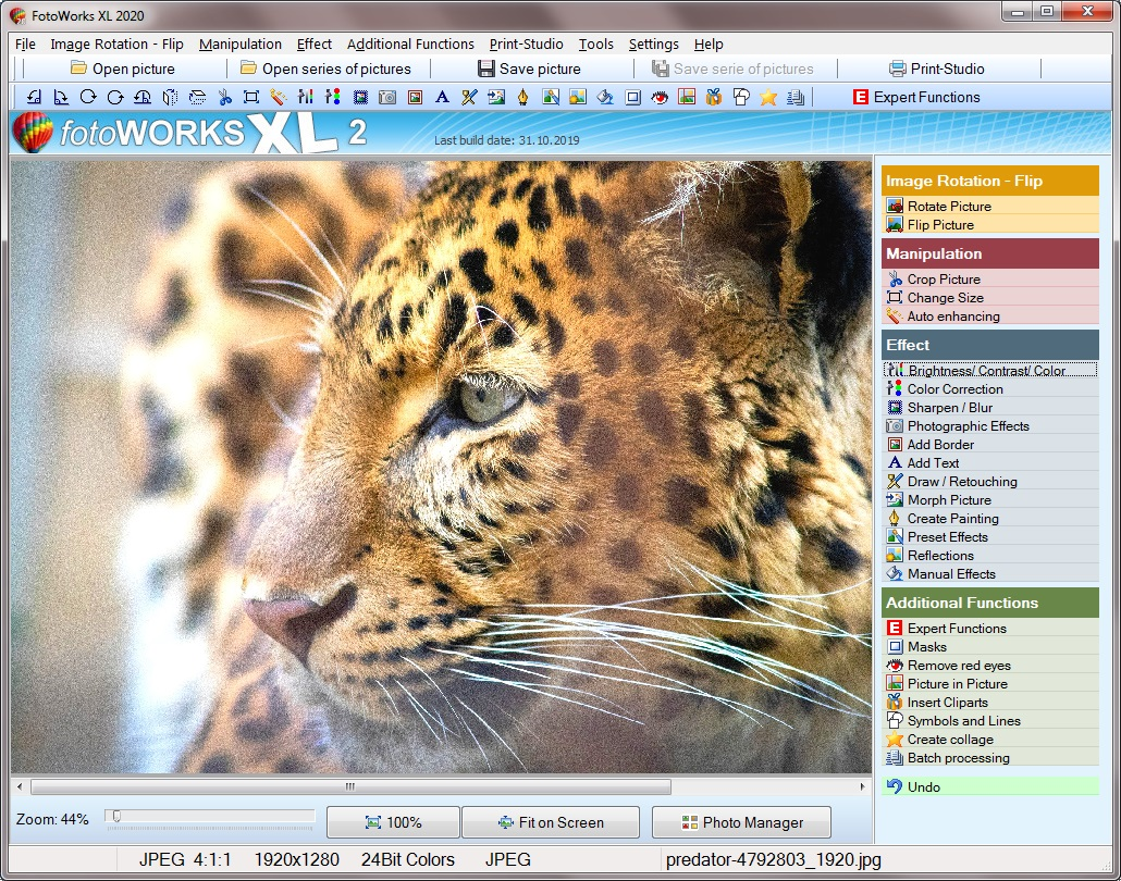 Picture editing software free download