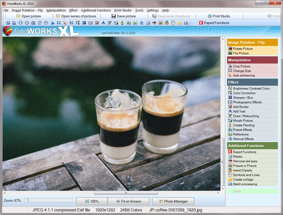 Edit photo easy